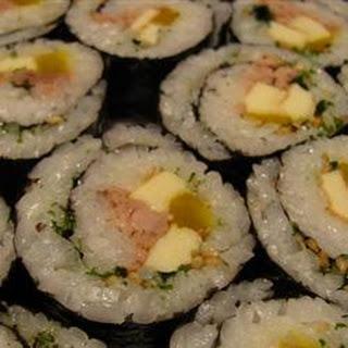 Korean Sushi.