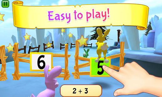 Bunny Math Race- screenshot thumbnail