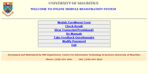 UOM_Student_Module_Registration