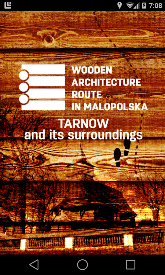 Tarnow. Wooden architecture- screenshot