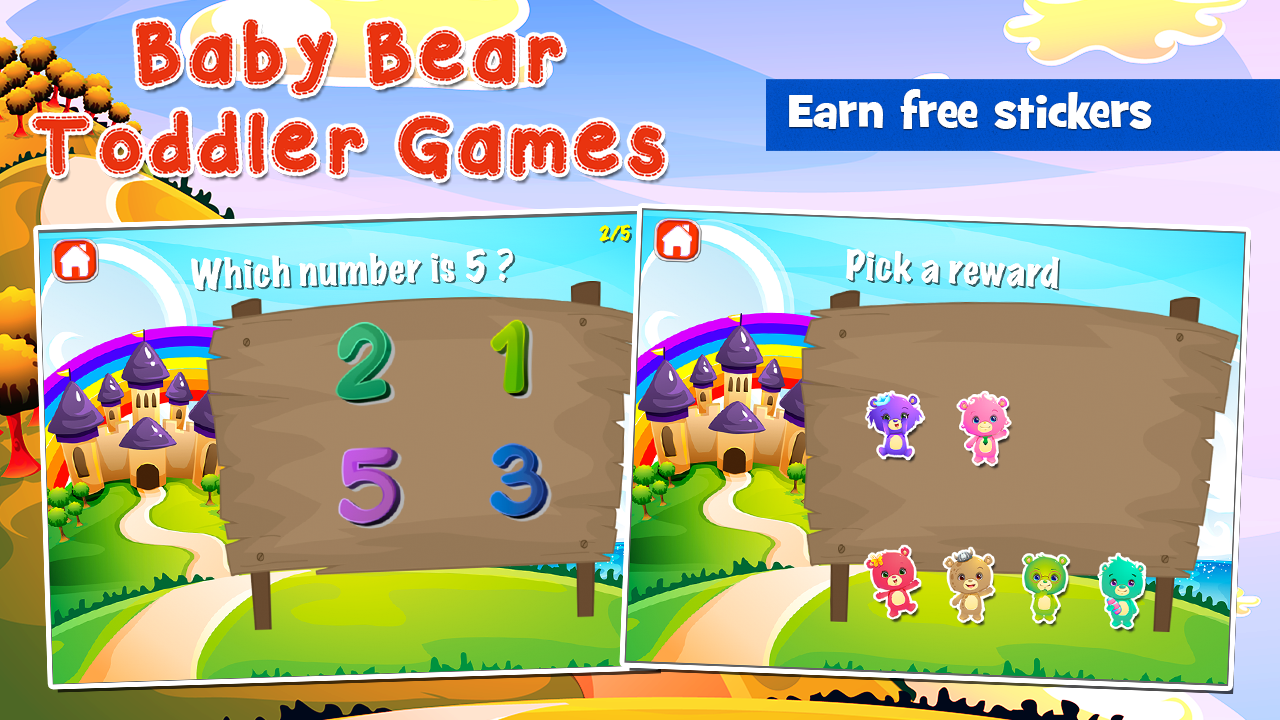 Baby Bear Games for Toddlers- screenshot