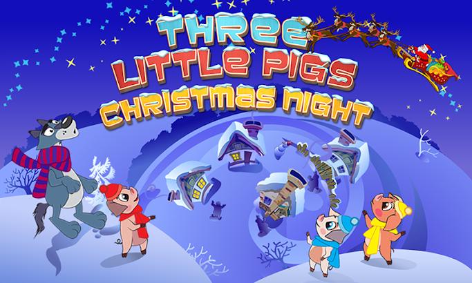 Three Little Pigs Xmas Story- screenshot thumbnail