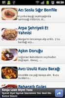 Screenshot of Şef Sensin