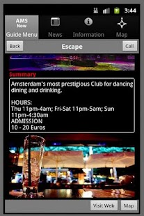 Amsterdam Club Guide - screenshot thumbnail