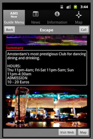 Amsterdam Club Guide - screenshot