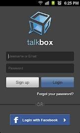 TalkBox Voice Messenger - PTT Screenshot 1