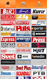 Srbija Vesti Serbia Newspapers