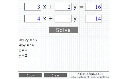 【免費教育App】方程系統求解-APP點子