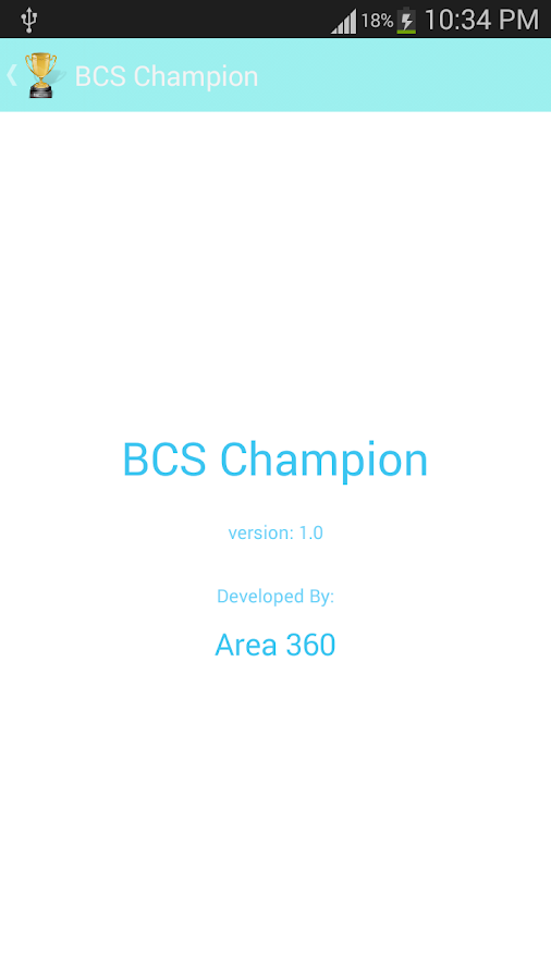 BCS Champion - screenshot