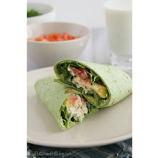 California Chicken Club Wrap Recipe
