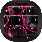 Neon Bubbles Keyboard