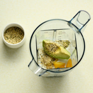 Pineapple-Avocado Kefir Smoothie