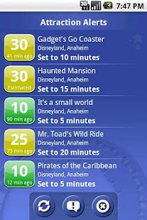 Ride Hopper Park Wait Times - screenshot thumbnail