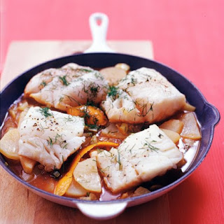 Cod with Fennel and Potatoes.