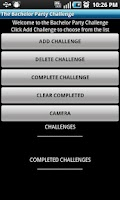 Screenshot of The Bachelor Party Challenge