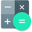 Calculator mobile app icon