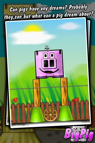 Big Pig - physics puzzle game - screenshot