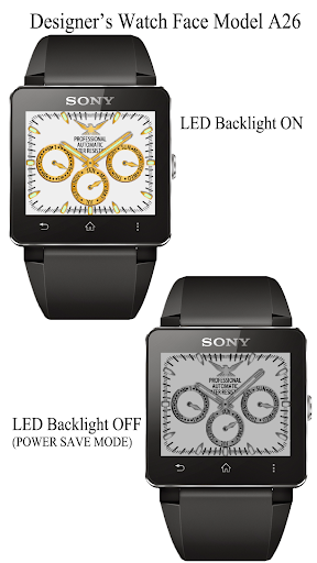 A26 WatchFace for SmartWatch2