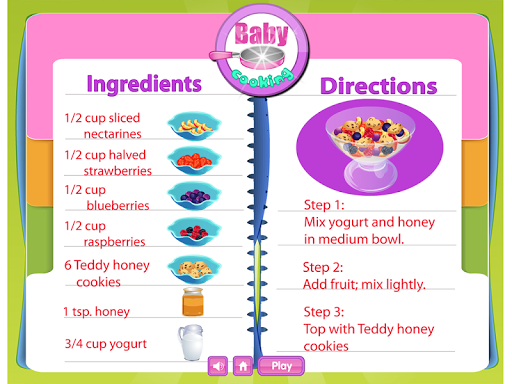 【免費休閒App】Baby Fruit Toss Cooking Game-APP點子