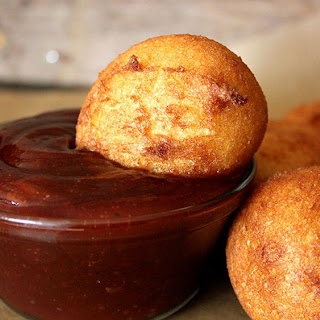 Barbecue Pork-Cornbread Bombs
