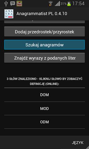 玩免費解謎APP 下載Anagrammatist PL app不用錢 硬是要APP