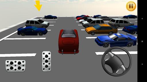 复古停车场3D