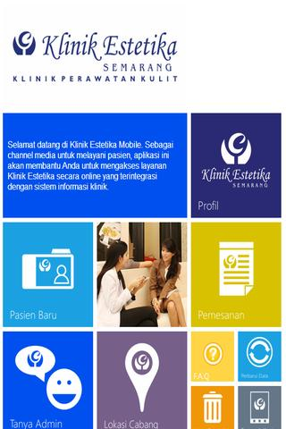 Klinik Estetika Mobile- screenshot