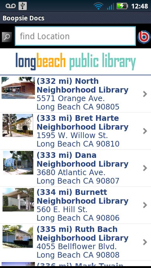 LBPL Mobile - screenshot