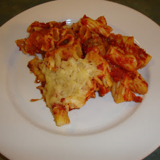 Slow Cooker Baked Ziti.