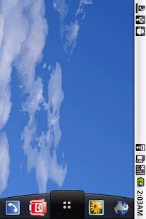 Blue sky white clouds- screenshot thumbnail