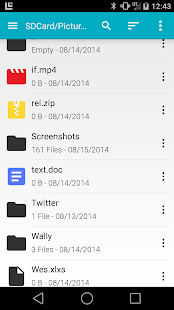 Sliding Explorer- screenshot thumbnail