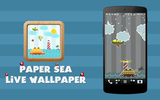 Paper Sea Live Wallpaper
