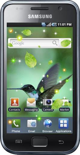 【免費個人化App】Colibry Springs HD LWP-APP點子