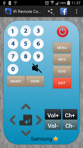 download ir remote control google play softwares