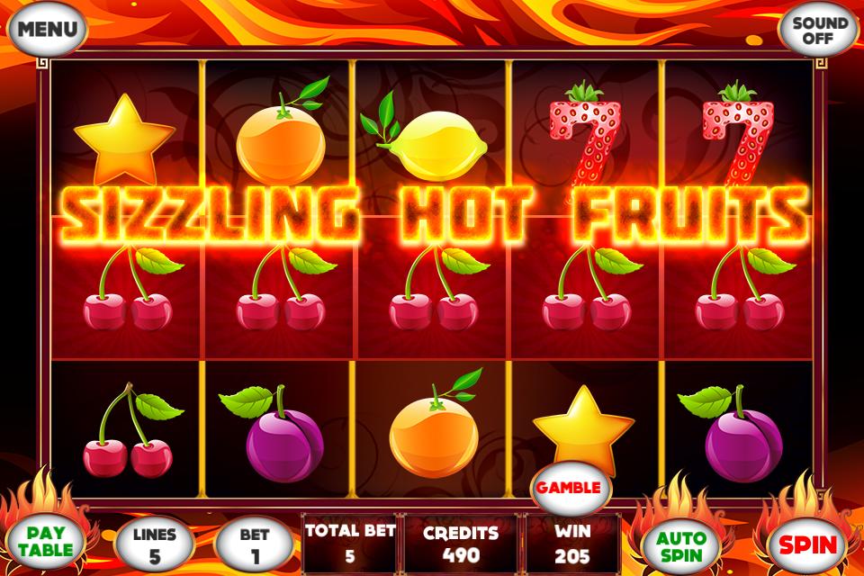 Sizzling Slots Fruit