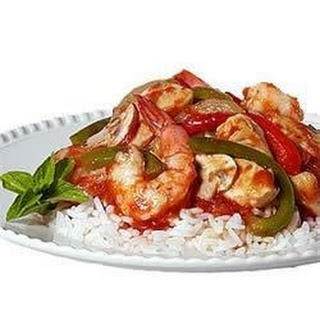 Eleanor R's Shrimp and Chicken Cacciatore