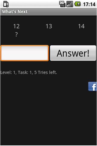What's next- screenshot