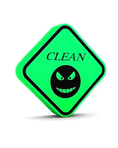 Clean Virus Memory Card