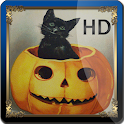 Halloween Vintage HD Live WP icon