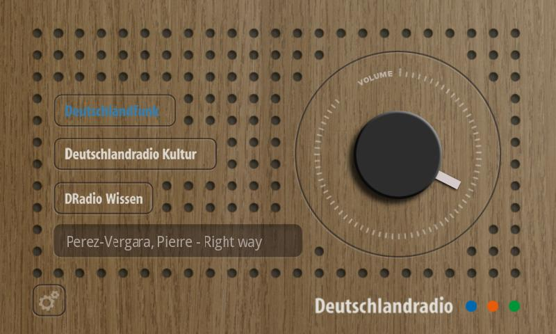 Das DRadio- screenshot