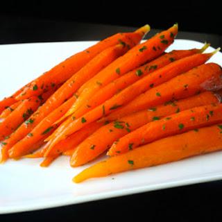 Sous-Vide Glazed Carrots.