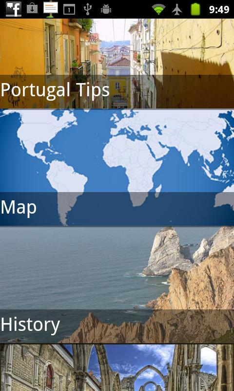 Portugal Travel Guide- screenshot