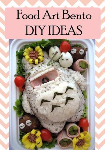 Food Art Bento DIY IDEAS