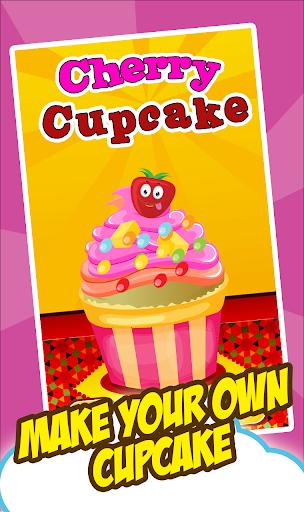 cherry cupcake-CookingGame