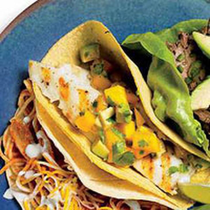 Fish & Mango Salsa Tacos Recipe