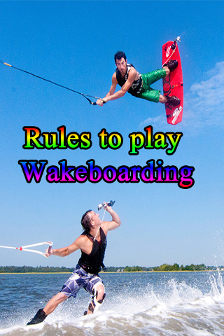 Rules to play Wakeboarding