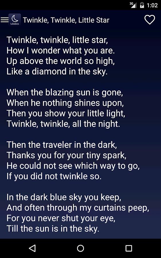 Lyric lyrics of brahms lullaby : Lullaby Lyrics - Android Apps on Google Play