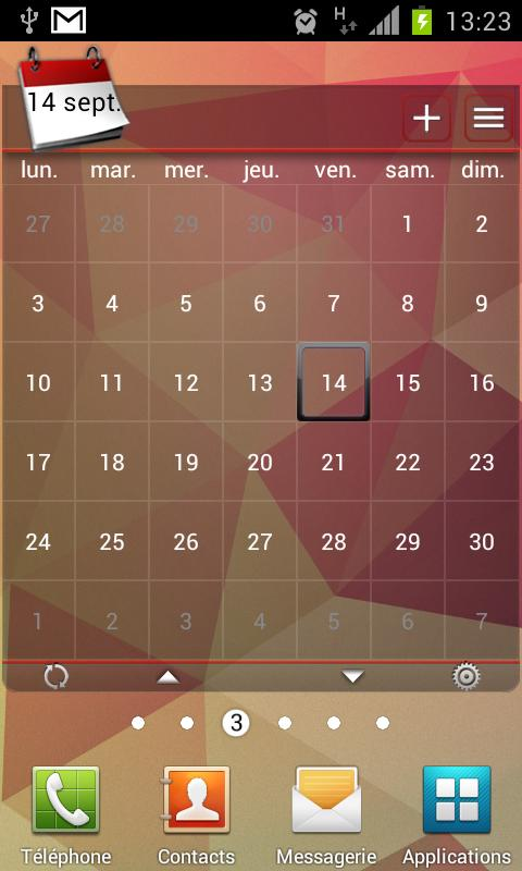 APW JellyBean v3 Theme - screenshot