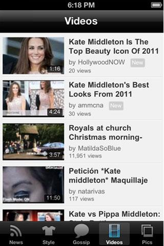 Kate Middleton Up-Close!- screenshot
