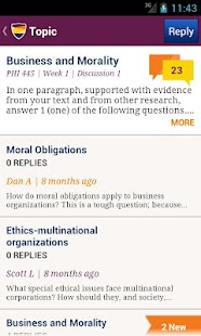 Ashford University Mobile - screenshot thumbnail